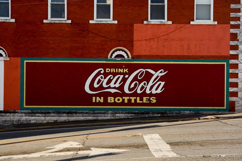 GA, Jasper - Coca-Cola Wall Sign 02