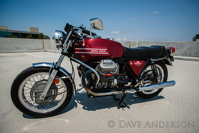 Steve Valin's 1973 Moto Guzzi V7 Sport