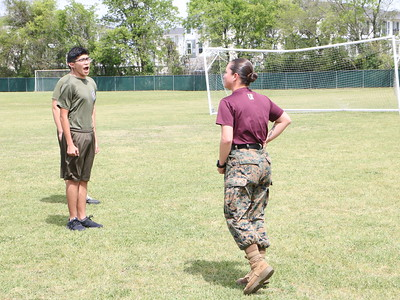 ROTC gets a taste of the US Marines