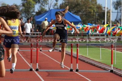 050510 Womens 300 hurdles