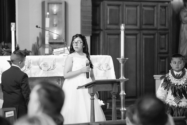 Bella & Val's First Communion