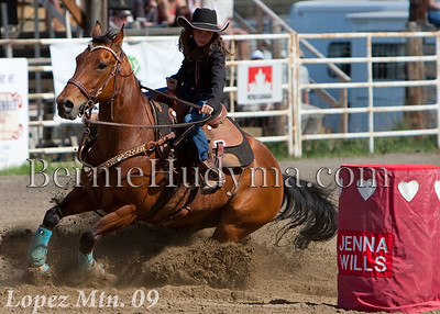 Barrel Racing  Saturday Perf.