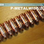 SKU: P-METALWISE/2/3E10, Electrode Pack for MetalWise Mach-Three 2nd Generation 130A Plasma Air-Cooling Mechanized Torch