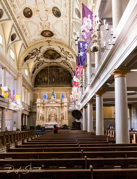 St Louis Cathedral interior