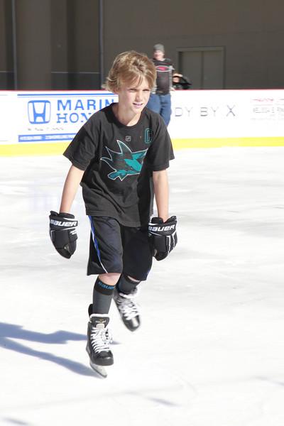 Ice Skating Northgate Mall