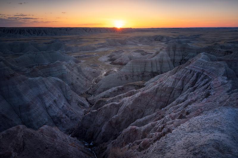 Wrinkled Rises || Big Badlands Overlook