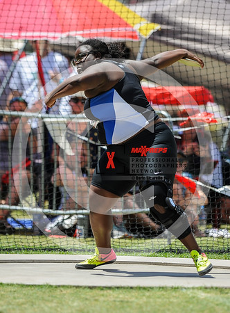 AIA Track & Field 2017 Finals Girl's Discus