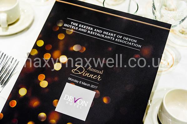 Exeter & Heart of Devon Hotels & Restaurants Association Annual Dinner 2017