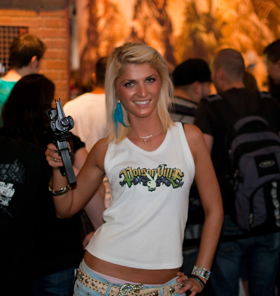 Girl at Gamescom 2010