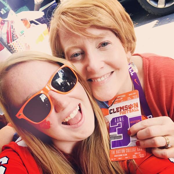Clemson fans