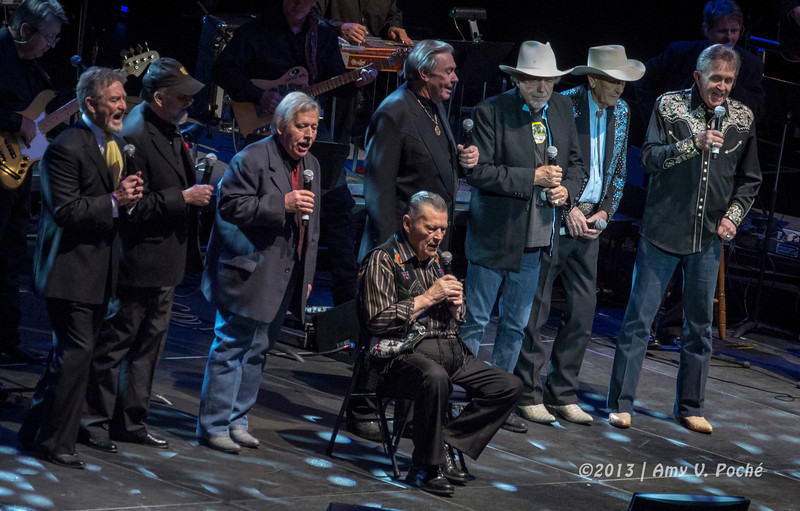 """When the Last Curtain Falls"", ""Still Doin' Time"" and ""Someday My Day Will Come"" by Bill Anderson, Bobby Bare, Jim Ed Brown, Jimmy C. Newman, John Conlee, Larry Gatlin, Ray Stevens and Stonewall Jackson…what a lineup!"