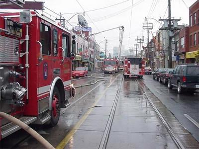 November 10, 2002 - 3rd Alarm - 1166 Dundas St. West