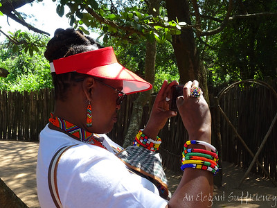 with the Zulu people, Richards Bay South Africa, April 2018