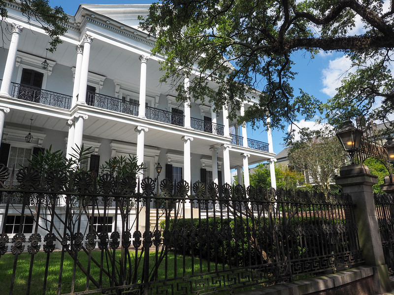 Buckner Mansion in New Orleans