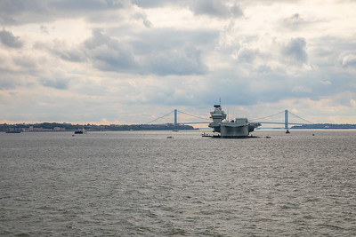 HMS QE port call and Battery Park NYC