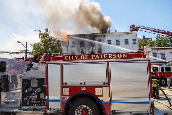 Paterson NJ 4th alarm, 40 Cianci St. 08-03-20