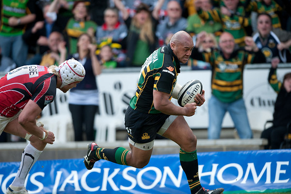 Northampton Saints vs Saracens, Guinness Premiership semi-final, Franklin's Gardens, 16 May 2010