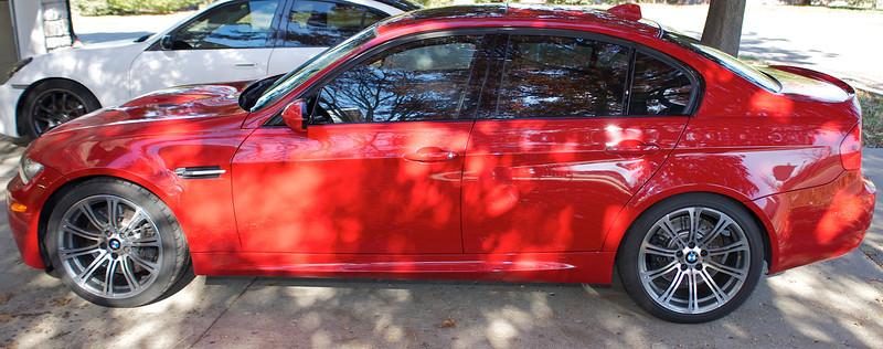 2008 BMW M3 Tint