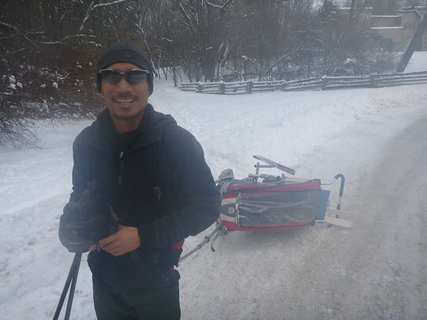 2014-Feb: XC Ski in Dundas