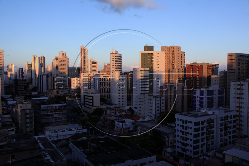 A view of the Boa Viagem district of Recife, Pernambuco state, Brazil. The Arena Pernambuco stadium, under soncstruction in nearby Sao Lourenco da Mata will be used for the Confederations cup in June 2013 and the World Cup in 2014. (Australfoto/Douglas Engle)
