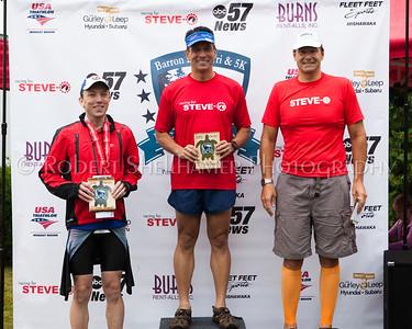 2015 Barron Lake Triathlon - Racing for Steve-O