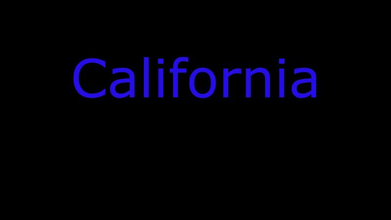 2015-11-19 - California Trip