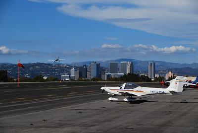 Flight to Santa Monica