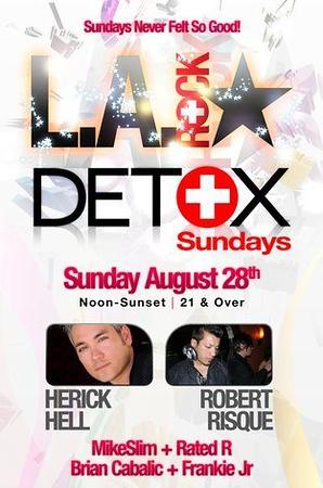 Detox Sundays @ Heritage Hotel 8.28.11