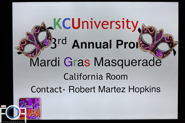 KCUniversity 3rd Annual Prom