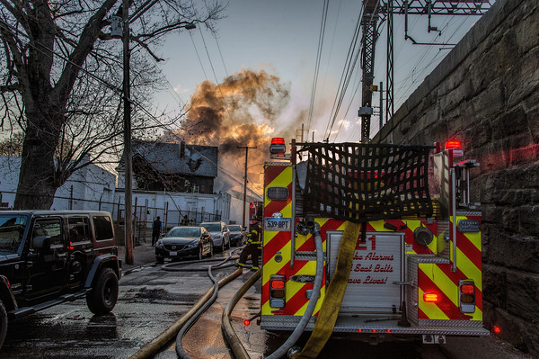 Bridgeport, CT 2nd alarm 746 Railroad Ave dwelling fire