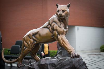 Panther Dedication in memory of Robert Hartwell