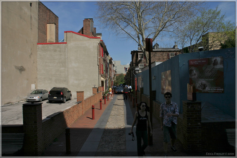 One of the oldest streets in Philly