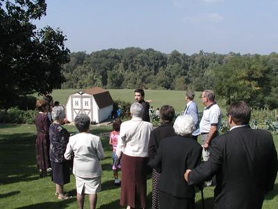 Community Life - Community Field of Dreams 1  - September 29, 2002