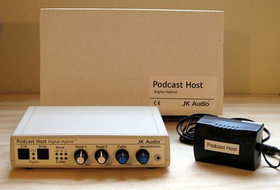JK Audio Podcast Host Digital Hybrid