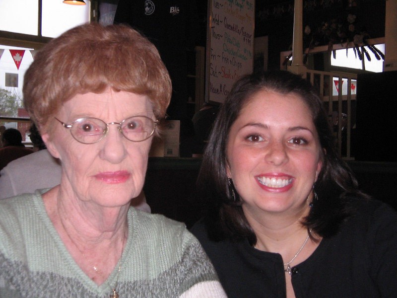 Nanny and I at the Apple Blossom Festival Opening