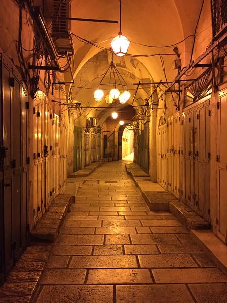 Muslim Quarter afterhours - Bridget St. Clair