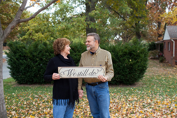 Wilma and Earl  60 years of marriage