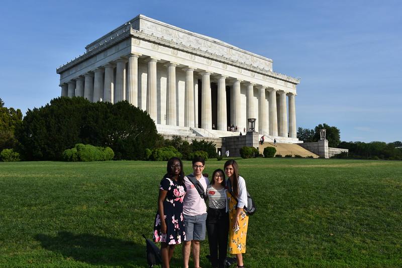 WYT 2019. Lincoln Memorial