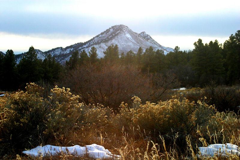 The Colorado countryside.