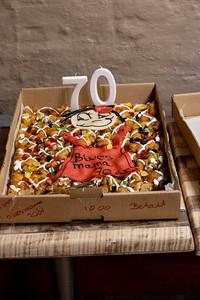 Ingers 70 års fødselsdag + Blues Jam