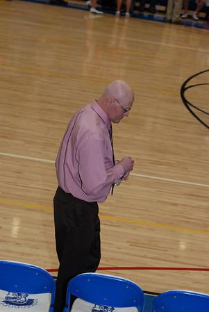 Girls Varsity Basketball - 2008-2009 - 3/10/2009 Regionals East Grand Rapids JG