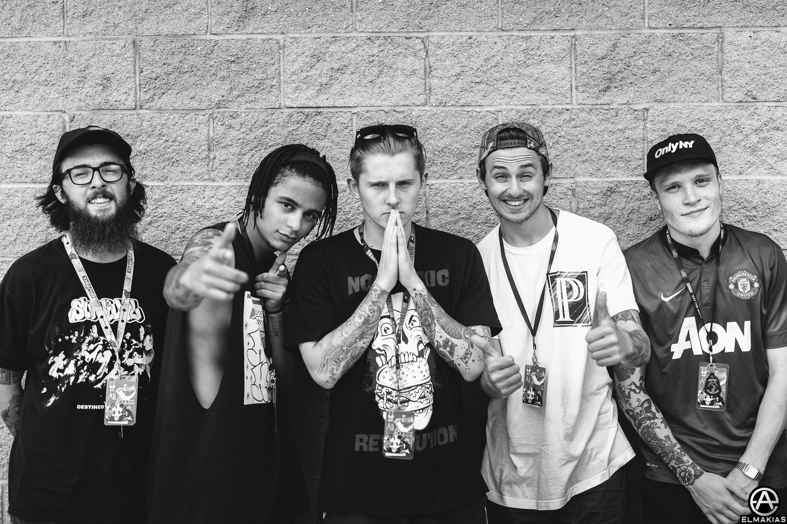 Neck Deep at Vans Warped Tour 2015 by Adam Elmakias