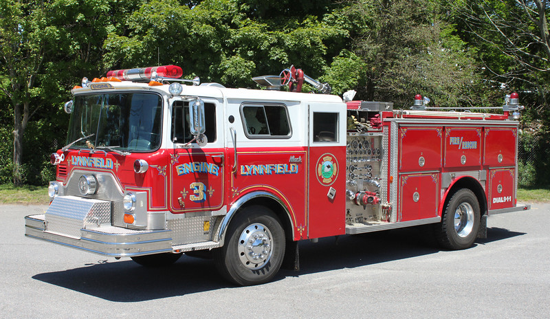 Engine 3 1985 Mack CF/E-One 1500/750