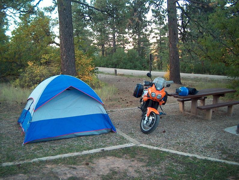 Camping in Durango