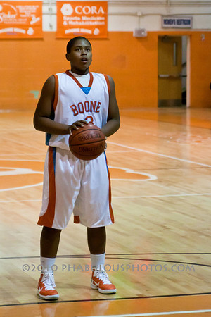 Colonial @ Boone High School Boys JV Basketball - 2010