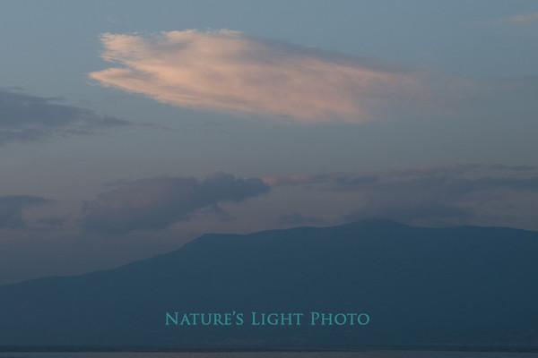 Cloud over Argolic Gulf, Nafplio, Greece