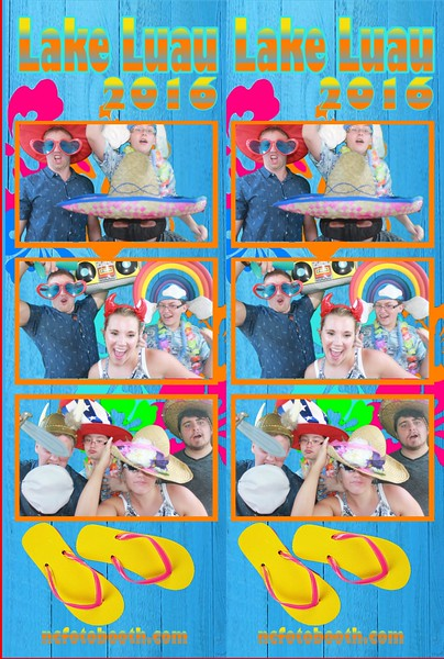 Luau Photo Strips