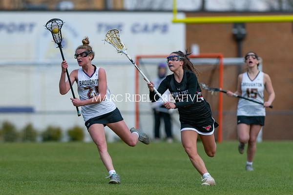 Broughton girls varsity lacrosse vs Middle Creek. February 28, 2020. D4S_0098