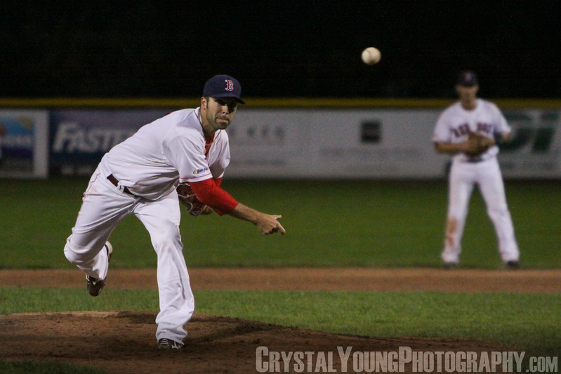 Guelph Royals at Brantford Red Sox IBL Playoffs, Round 1 Game 3 August 6, 2014