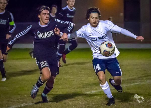 GBHS Freshmen Soccer - Dec 14 - GB vs Navarre